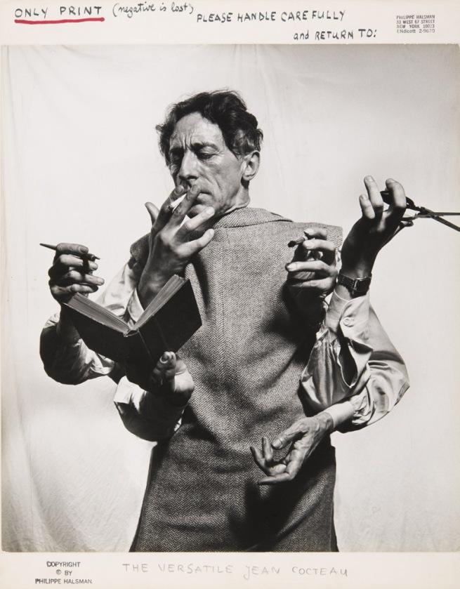 Philippe Halsman. 'The Versatile Jean Cocteau' 1949