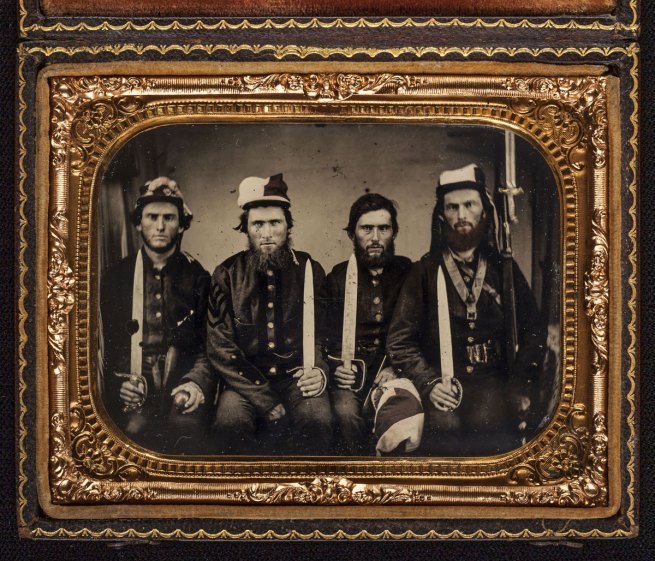 "Unknown '[The Pattillo Brothers (Benjamin, George, James, and John), Company K, ""Henry Volunteers,"" Twenty-second Regiment, Georgia Volunteer Infantry]' 1861-63"