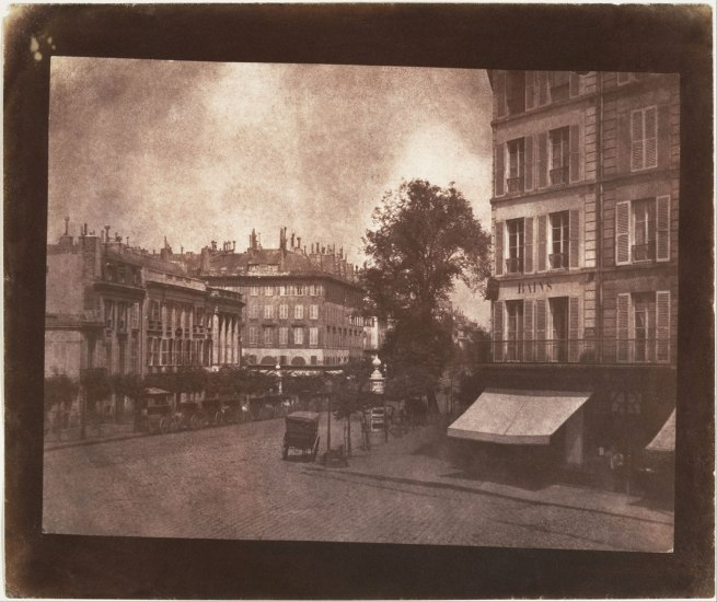 William Henry Fox Talbot (British, 1800-1877) 'The Boulevards at Paris' May-June 1843