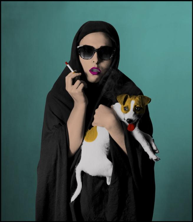 Hoda Afshar. 'Westoxicated #7' 2013