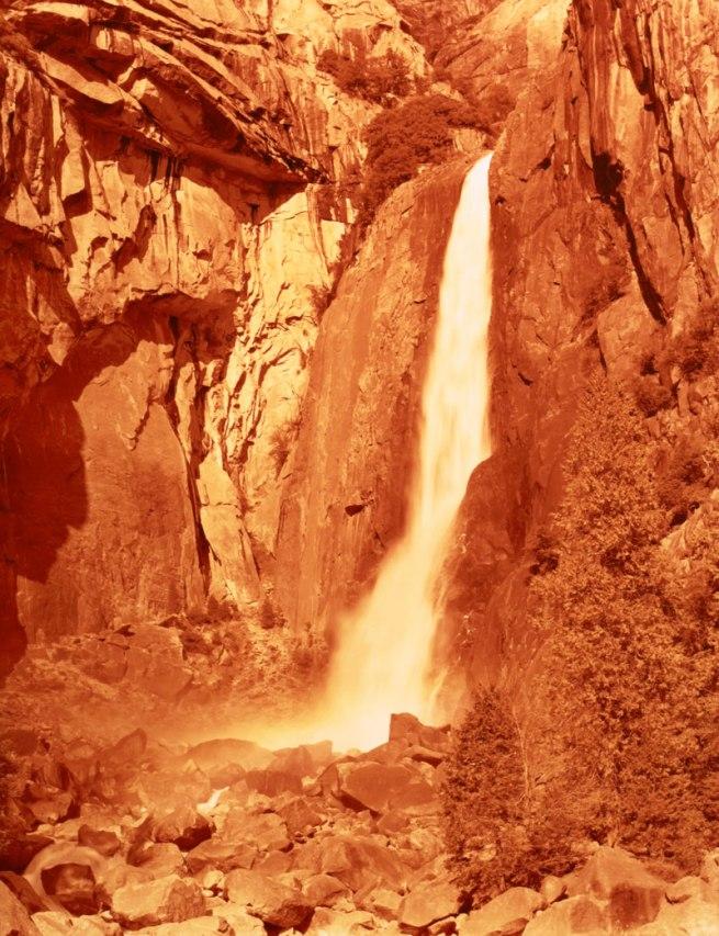 David Benjamin Sherry. 'Lower Yosemite Falls, Yosemite, California' 2013