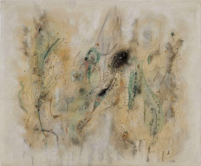 Wols. 'Untitled (Green Composition)' c. 1942