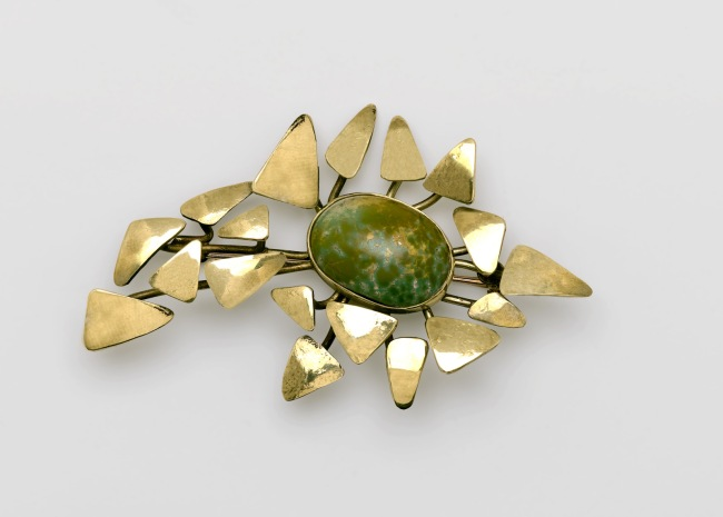 Art Smith (American, 1917-1982) 'Autumn Leaves Brooch' 1974