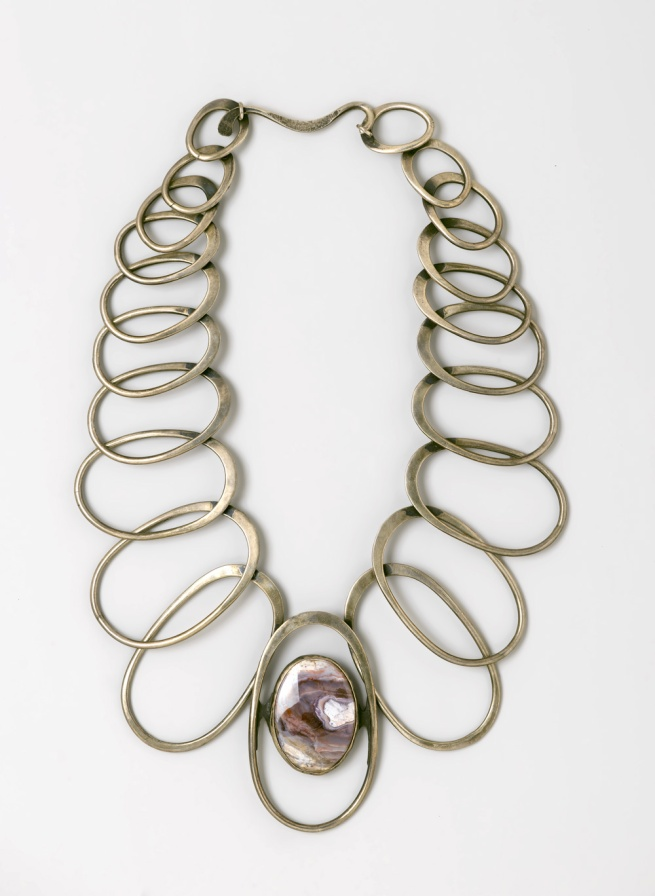 Art Smith (American, 1917-1982) 'Linked Oval Necklace' designed by 1974