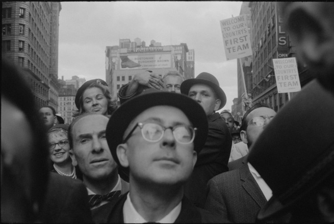 Garry Winogrand 'Richard Nixon Campaign Rally, New York' 1960