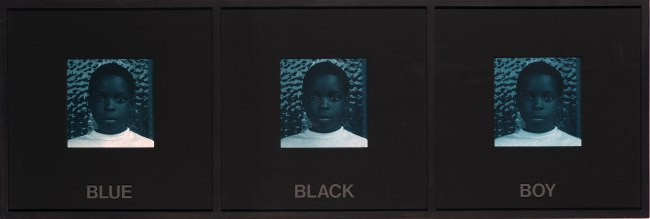 Carrie Mae Weems. 'Blue Black Boy (from 'Colored People')' 1989-90
