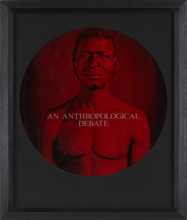 Carrie Mae Weems. 'An Anthropological Debate' (from 'From Here I Saw What Happened and I Cried') 1995-96