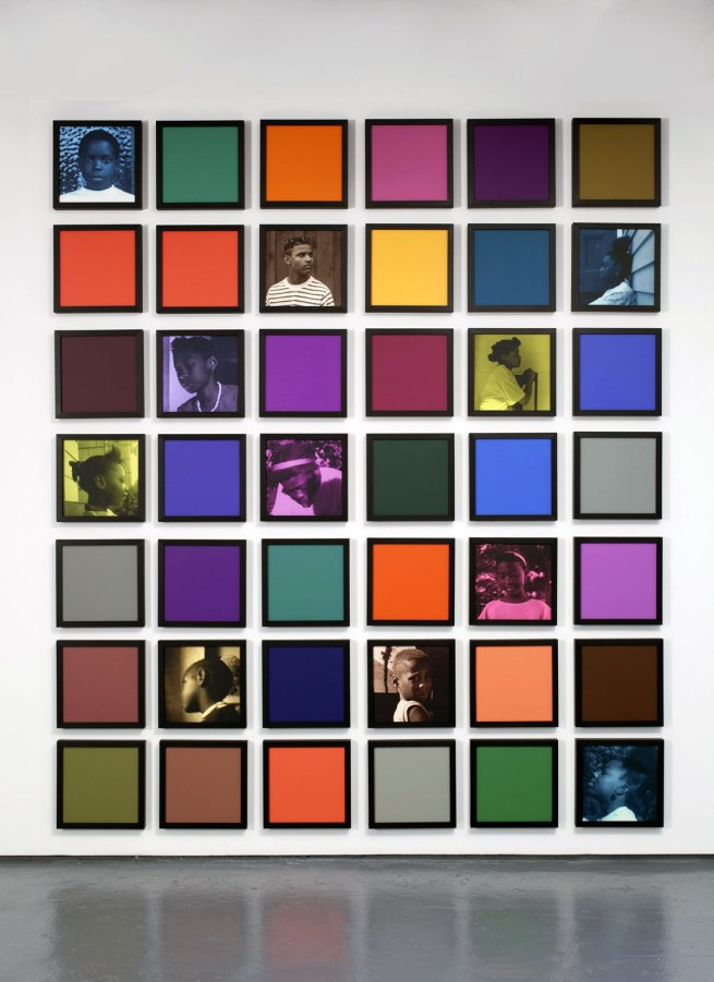 Carrie Mae Weems. 'Untitled (Colored People Grid)' 2009-10