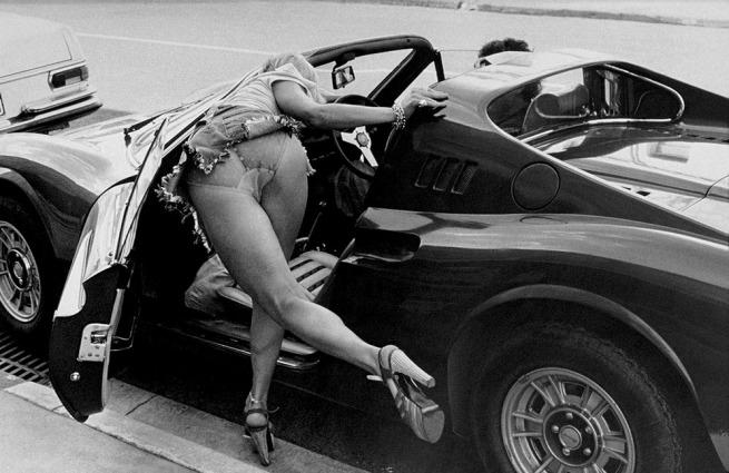 Rennie Ellis. 'Dino Ferrari, Toorak Road' 1976