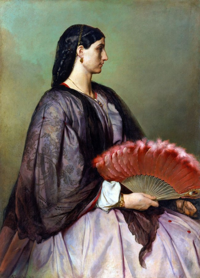 Anselm Feuerbach. 'Nanna' 1861