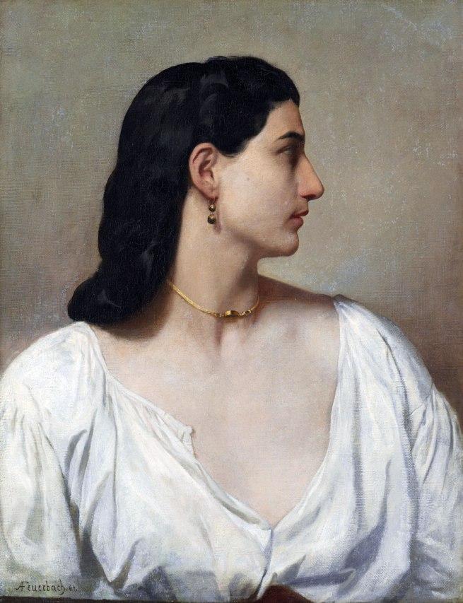 Anselm Feuerbach. 'Nanna' 1864
