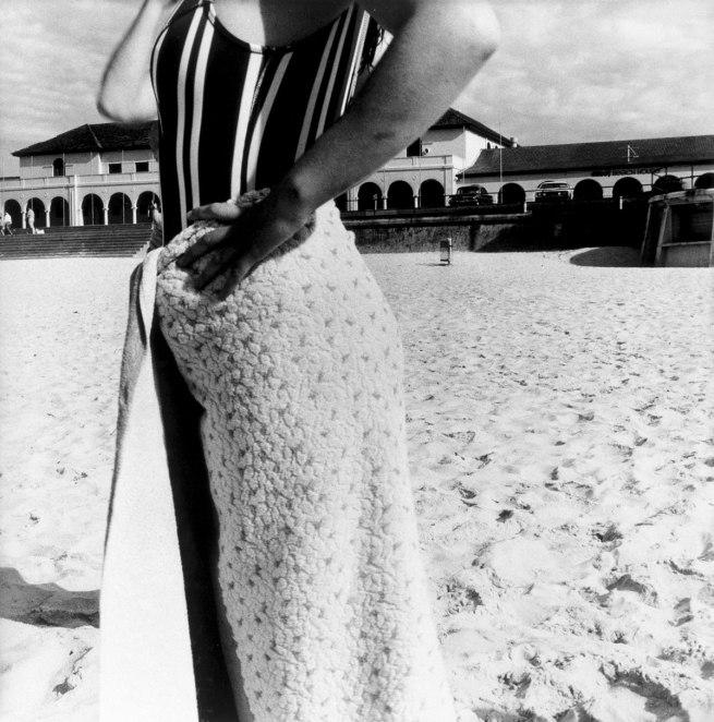 Fiona Hall (Australia 1953 - ) 'Bondi Beach, Sydney, Australia, October 1975' 1975