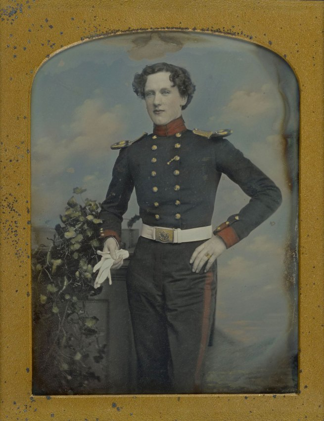 William Edward Kilburn (English, 1818-1891) 'Portrait of Lt. Robert Horsely Cockerell' 1852-1855