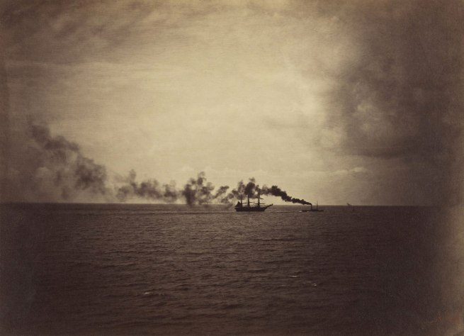 Gustave Le Gray (French, 1820-1884) 'The Tugboat' 1857