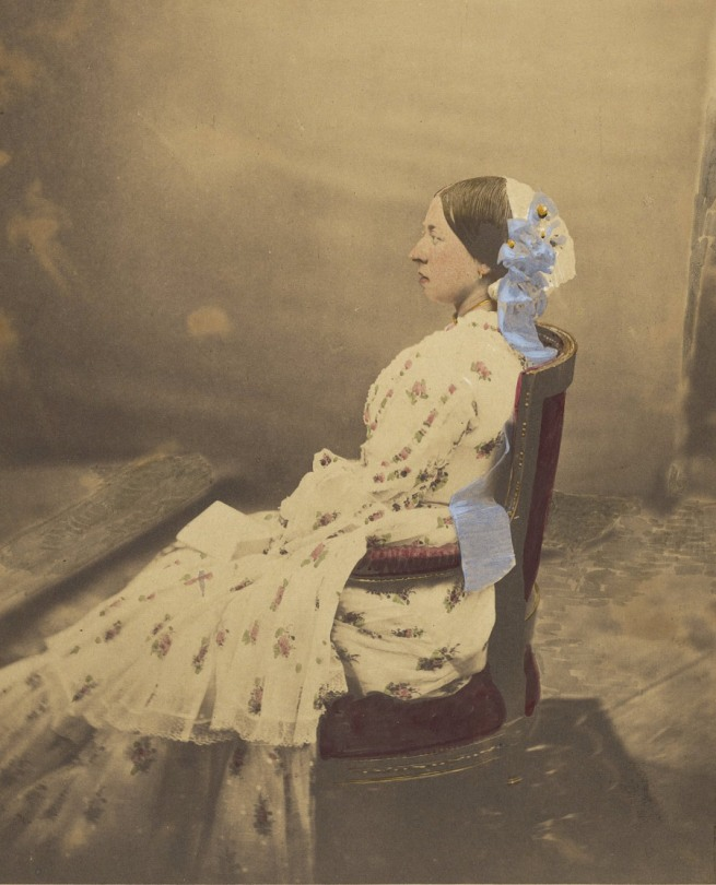 Roger Fenton (English, 1819-1869) 'Queen Victoria' June 30, 1854