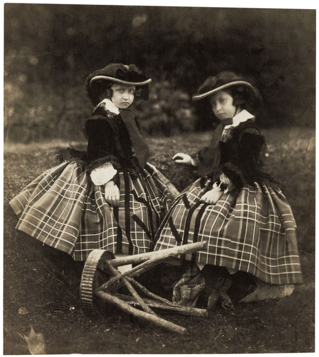 Roger Fenton (English, 1819-1869) 'Princesses Helena and Louise' 1856