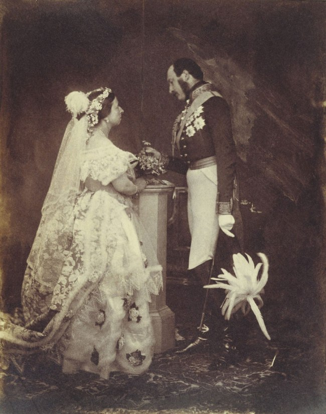 Roger Fenton (English, 1819-1869) 'The Queen and Prince Albert' May 11, 1854
