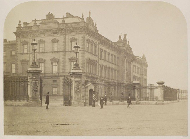 Roger Fenton (English, 1819-1869) 'Buckingham Palace' about 1858