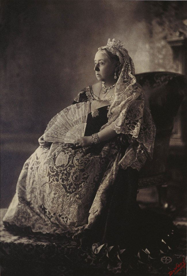 W. & D. Downey (British, active 1860-1920s) 'Queen Victoria Diamond Jubilee Portrait' July 1893