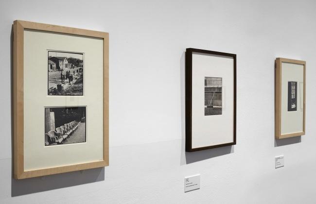 Installation views of the exhibition 'Wols: Cosmos and Street' at the Museo Nacional Centro de Arte Reina Sofía, Madrid 2014