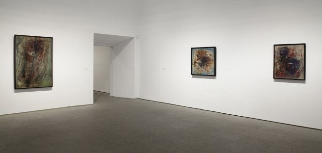 Installation views of the exhibition 'Wols: Cosmos and Street' at the Museo Nacional Centro de Arte Reina Sofía, Madrid 2014