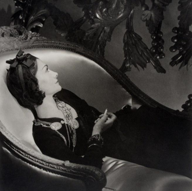 Horst P. Horst. 'Coco Chanel' 1937
