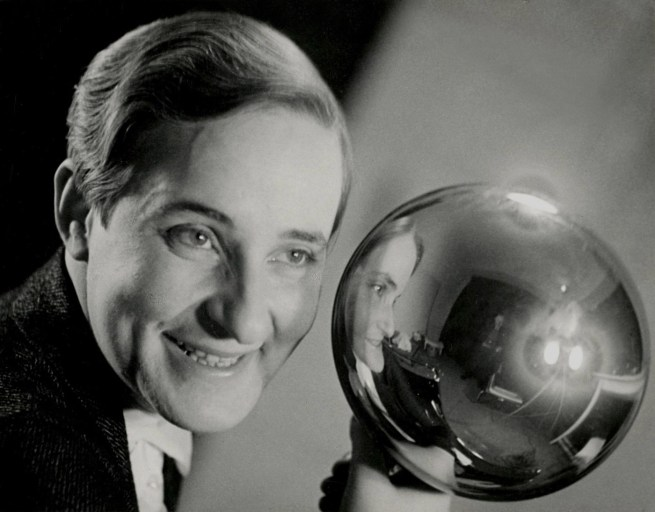 Aenne Biermann. 'Self-Portrait with silver ball' 1931