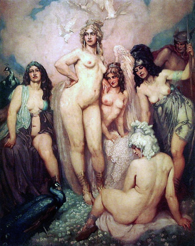 Norman Lindsay. 'The Olympians' Nd