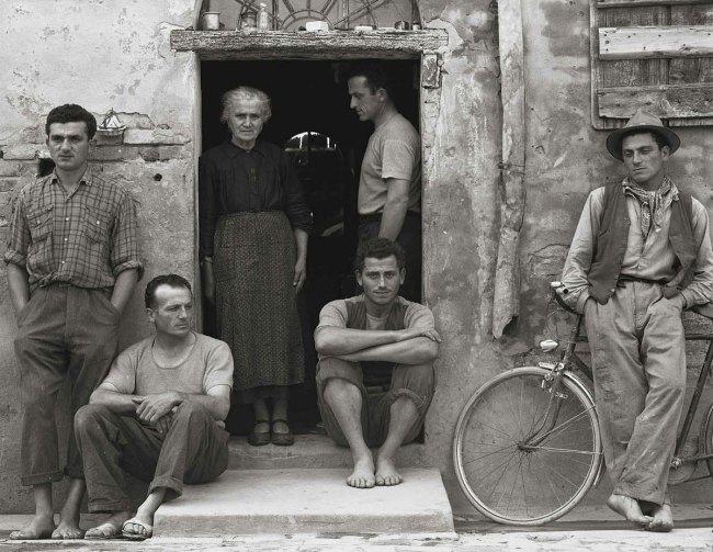 Paul Strand. 'The Family, Luzzara, Italy' 1953