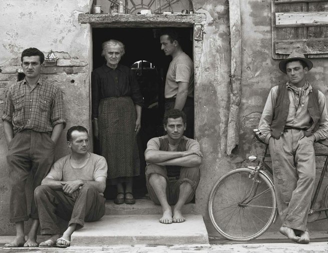 Paul Strand. 'The Family, Luzzara, Italy' 1953