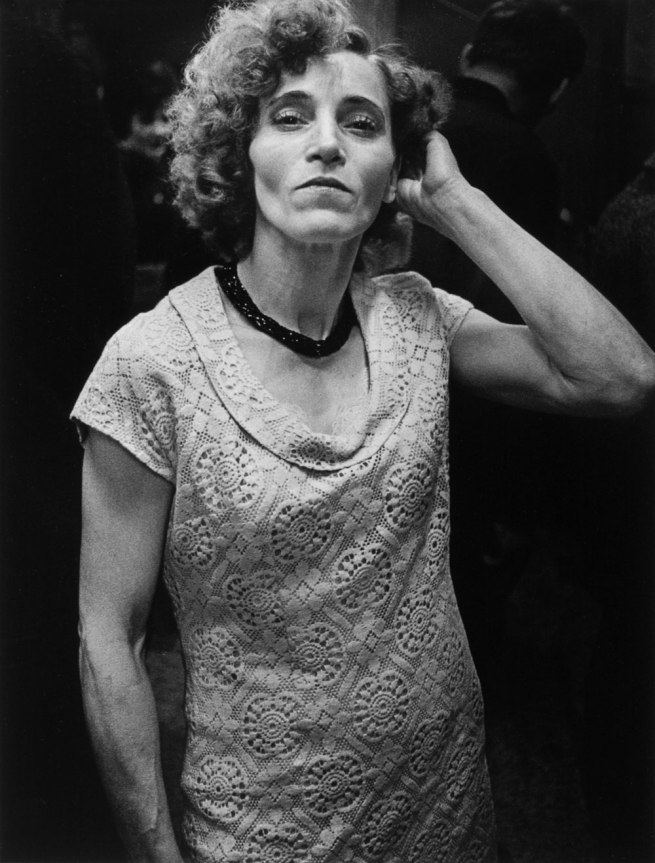 Anders Petersen. 'Marlene' from the series 'Café Lehmitz' 1967-1970/1986