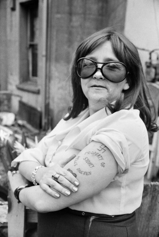 Rennie Ellis. 'Property of Hells Angels, Kings Cross' 1970-71