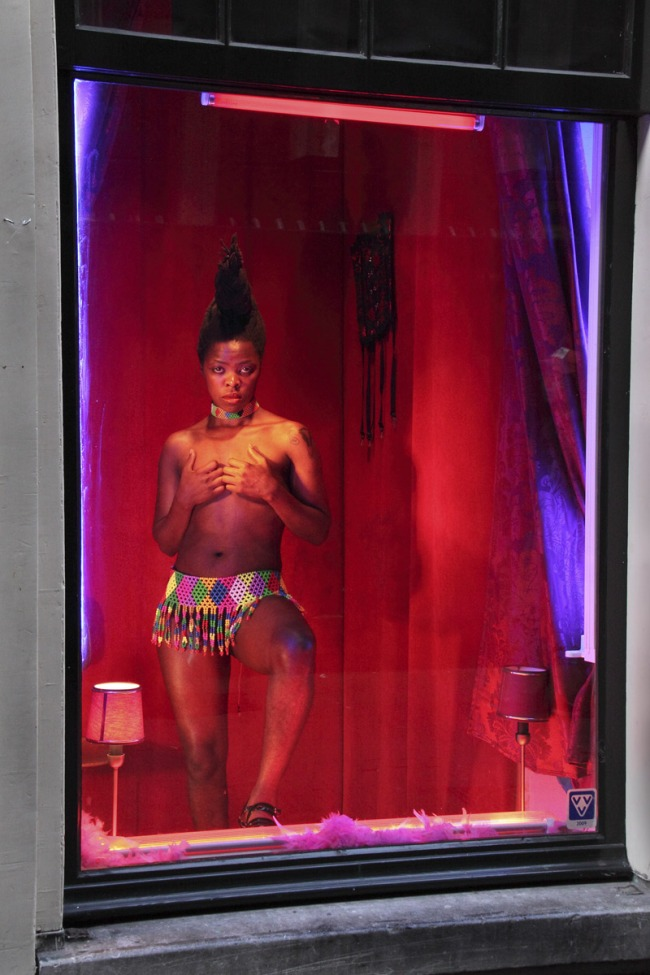 Zanele Muholi (1972 Umlazi, Durban) 'Being (T)here (Amsterdam)' 2009