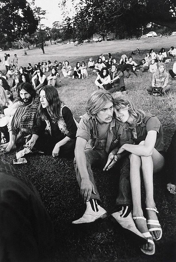 Robert McFarlane (Australia, b. 1942) 'Happening Centennial Park, Sydney' c. 1968
