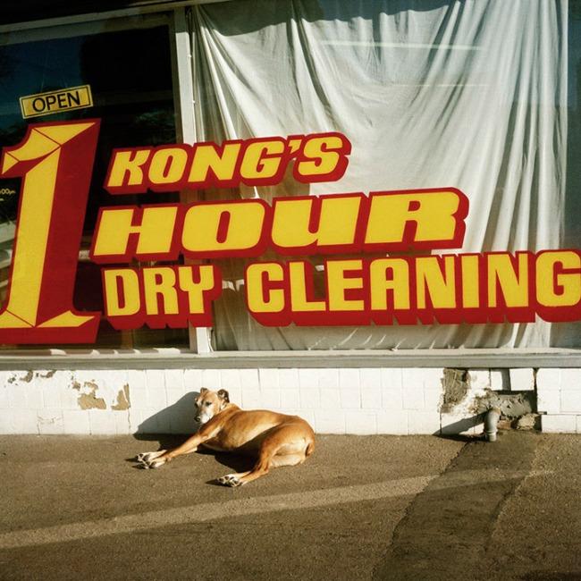 Glenn Sloggett (Australia, b. 1964) 'Kong's 1 hour dry cleaning' 1998
