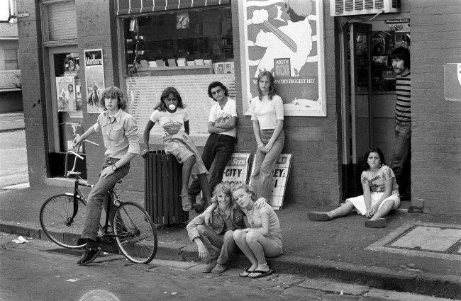Rennie Ellis. 'The Gang, Windsor' 1976
