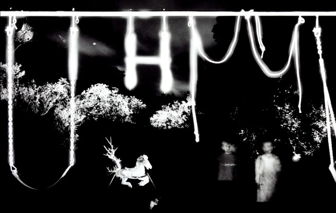 Trent Parke. 'Backyard swing set, QLD' 2003