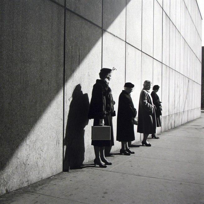 Vivian Maier. 'New York, NY' 1954