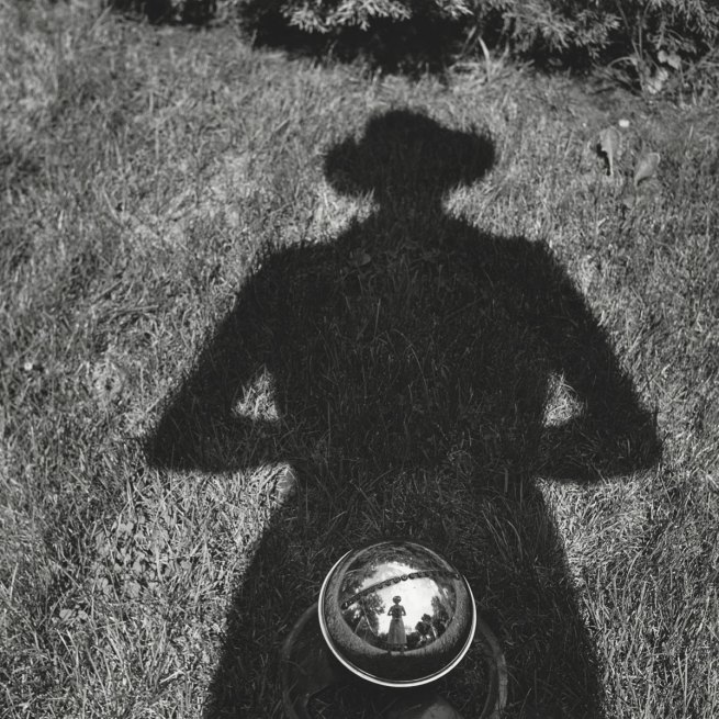 Vivian Maier. 'Self-portrait' Nd