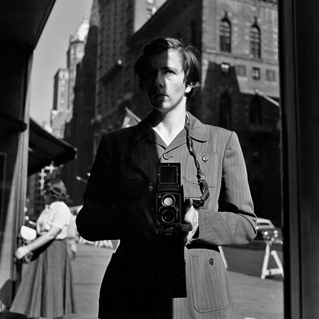 Vivian Maier. 'New York, NY, 18 Octobre 1953' 1953