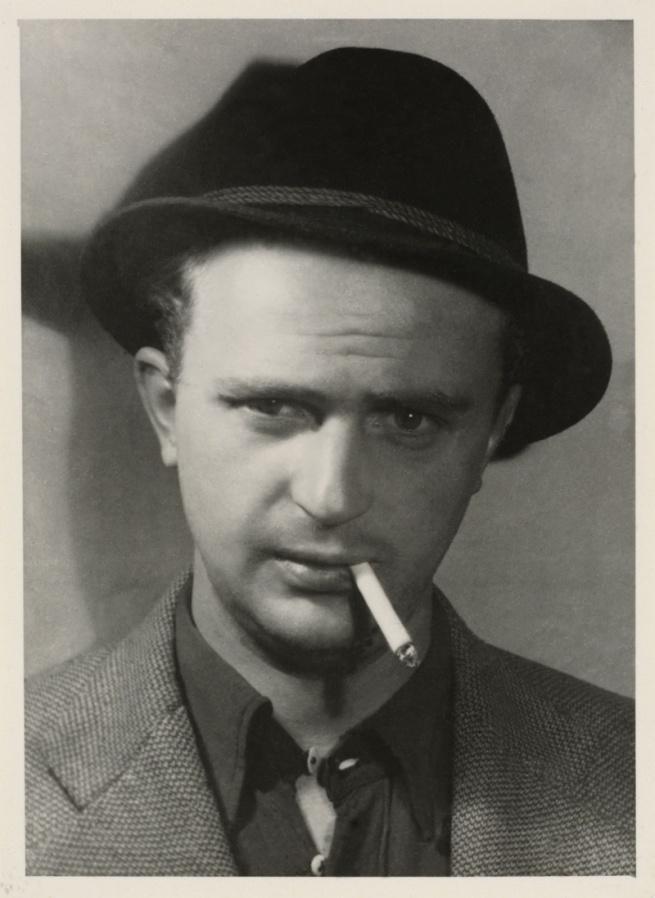 Otto Wols (Alfred Otto Wolfgang Schulze) (German, 1913-1951)  'Self-portrait' 1938