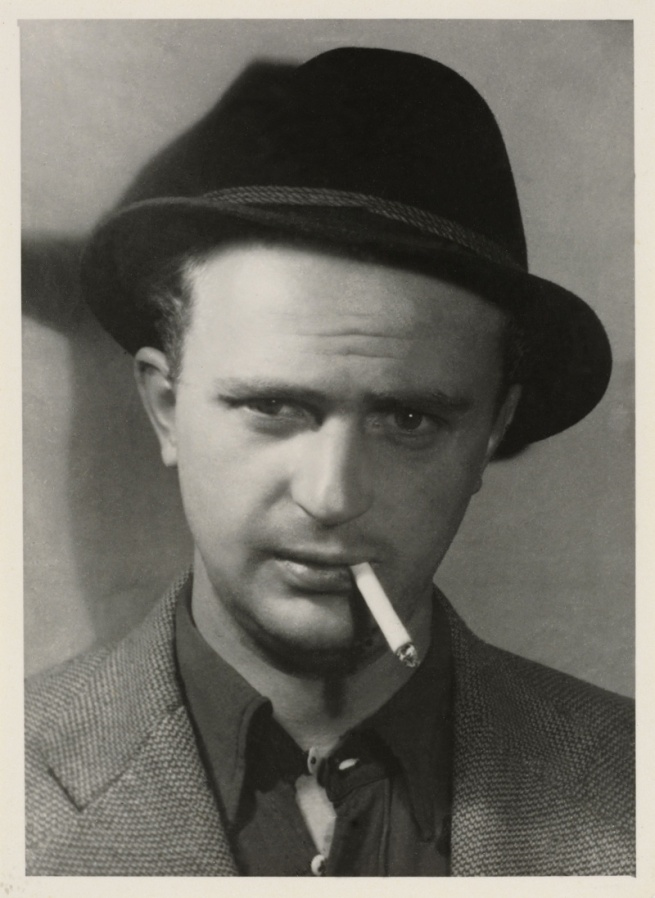 Wols. 'Self Portrait with Hat' 1937/38