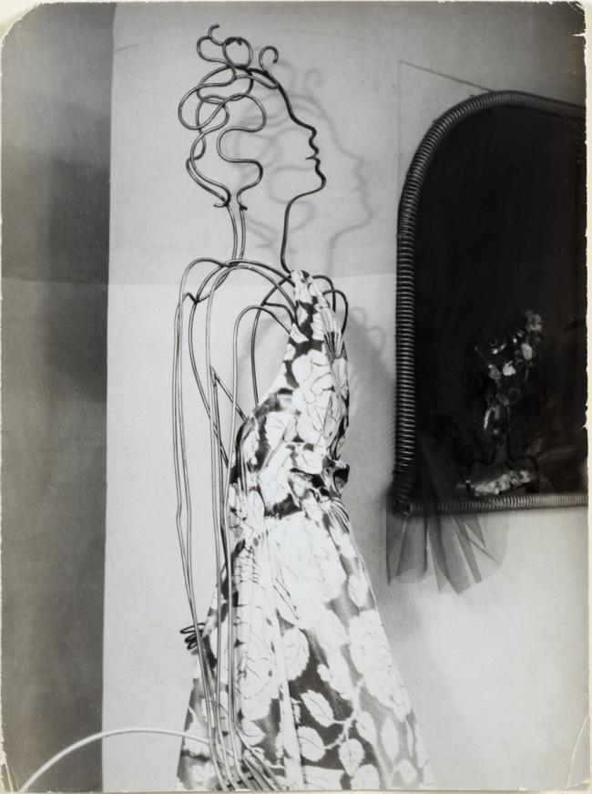 Wols. 'Untitled [Swiss Pavilion - Wire Figure]' 1937