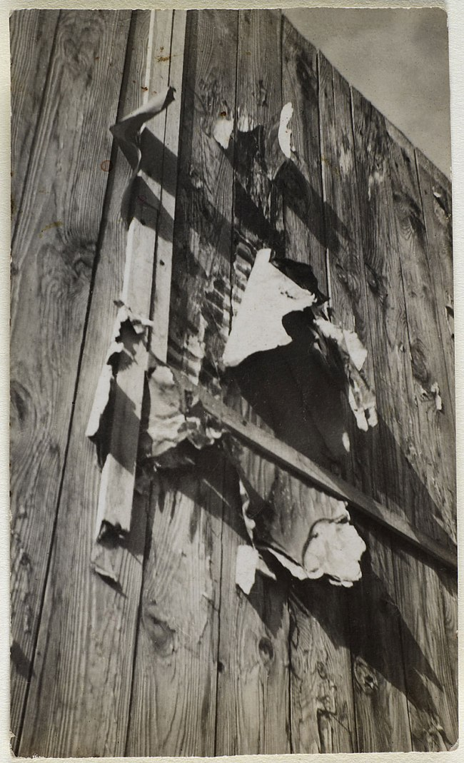 Wols. 'Untitled [Paris - Palisade]' Fall 1932 - October 1933 / January 1935 - August 1939