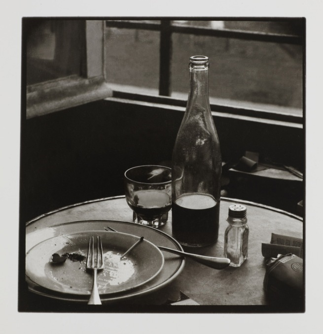 Wols. 'Untitled [Still life - dining table]' 1937