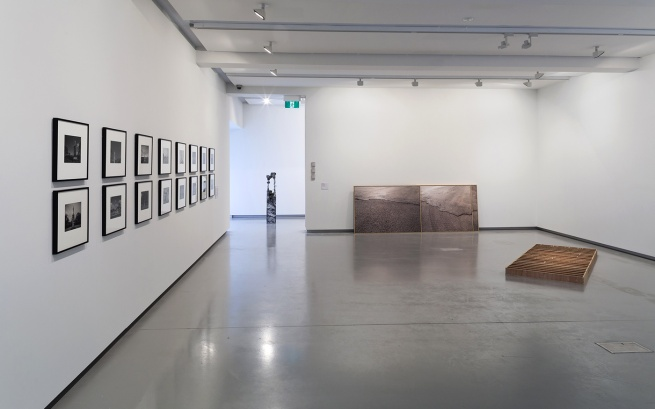'Concrete' installation view, Monash University Museum of Art, 2014