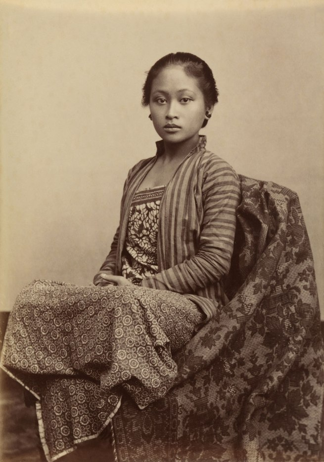 Kassian Céphas Indonesia 1845-1912 'Young Javanese woman' c. 1885