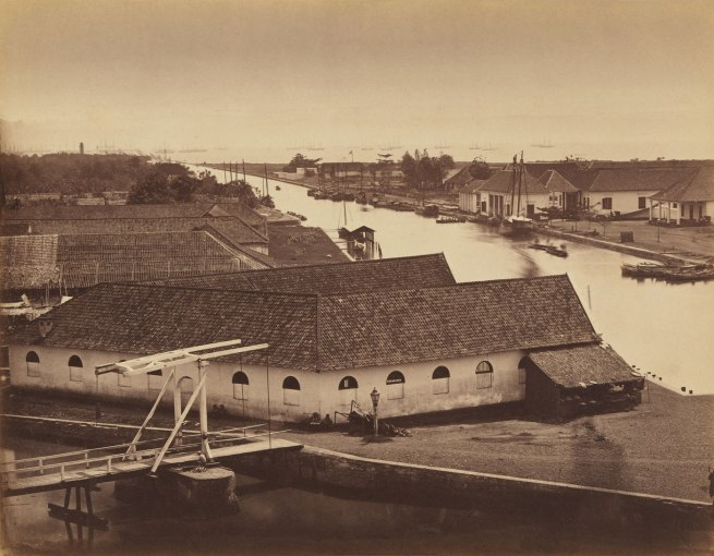 Woodbury & Page. 'Batavia roadstead' c. 1865