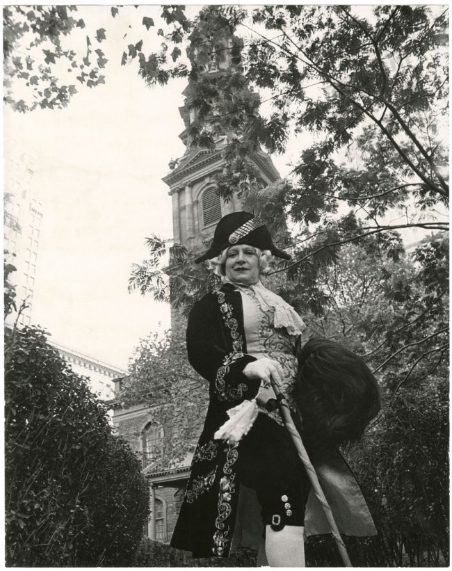 Bill Cunningham. 'St. Paul's Chapel and Churchyard (built c. 1766-96)' c. 1968-76