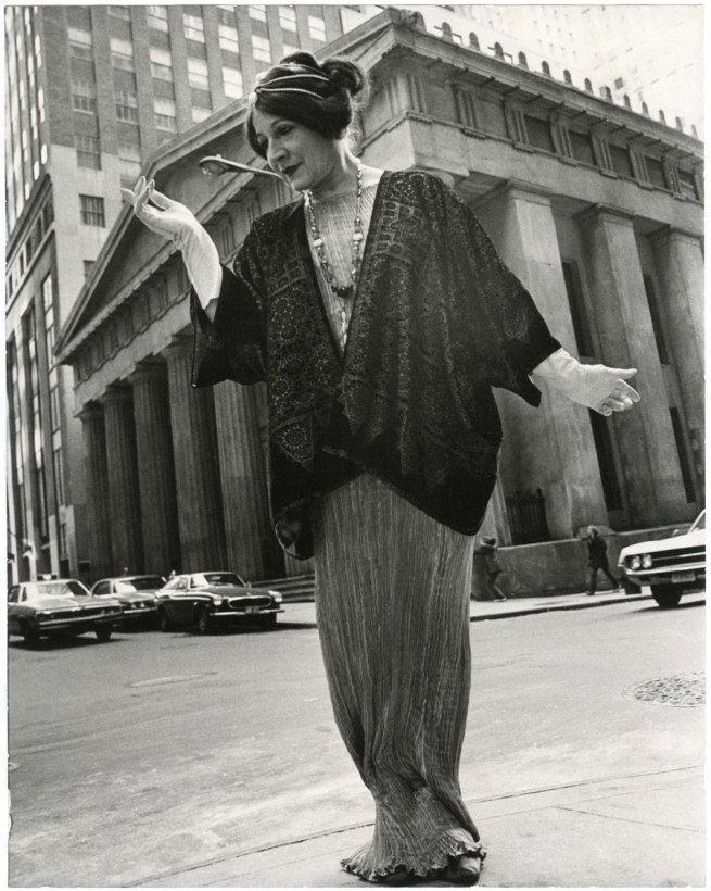Bill Cunningham. 'Federal Hall (built c. 1842, costume c. 1910)' c. 1968-1976
